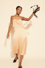 SADE SILK SLIP DRESS | BLUSH (MADE TO ORDER)