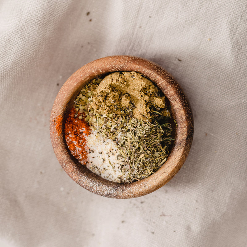 Green Tea Spice Rub