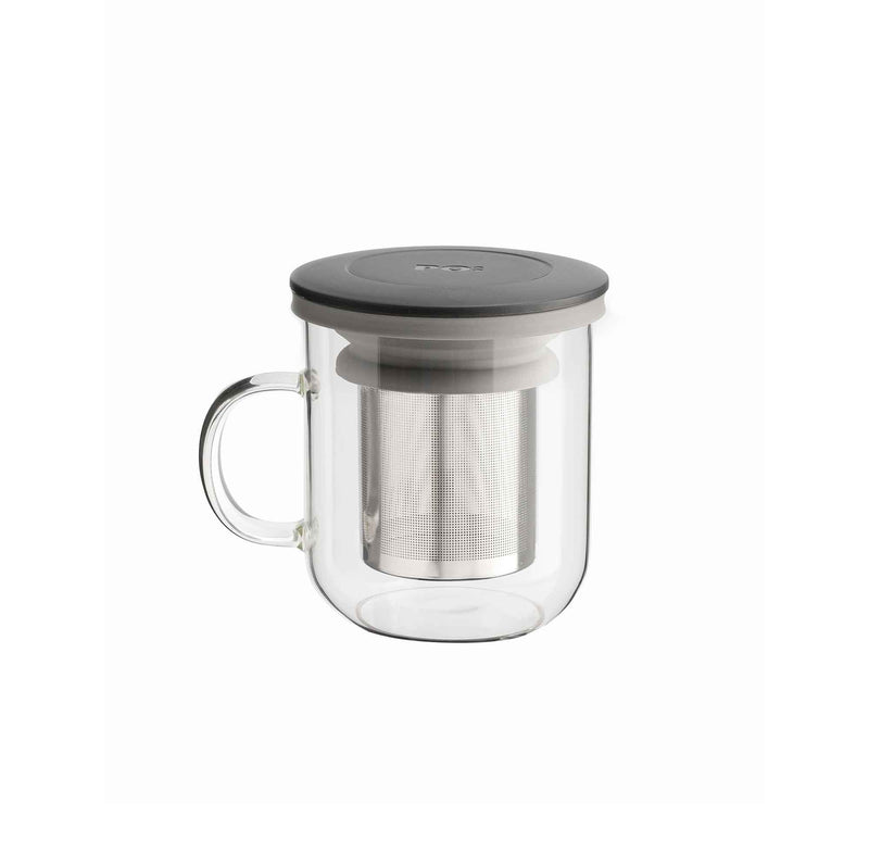 Grey Ming Infuser Mug