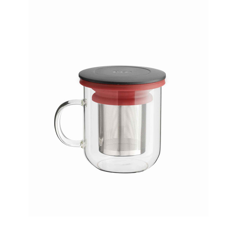 Red Ming Infuser Mug