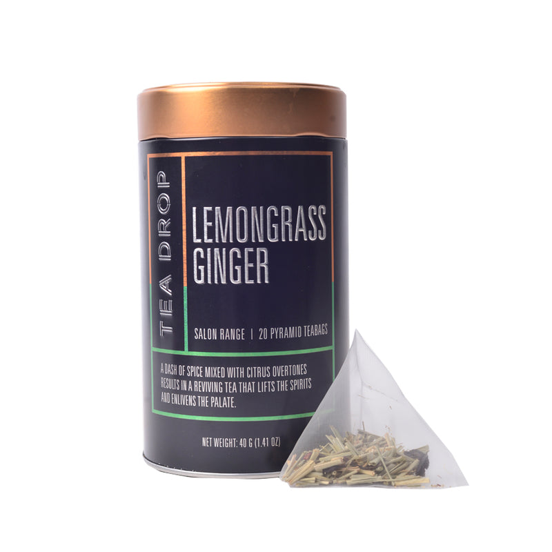 Lemongrass Ginger Salon Tin