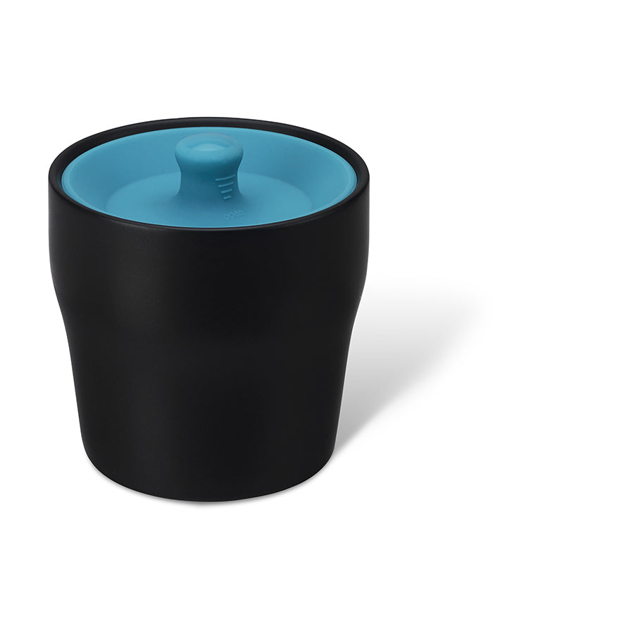 Airtight Canister (Black /Blue Lid)