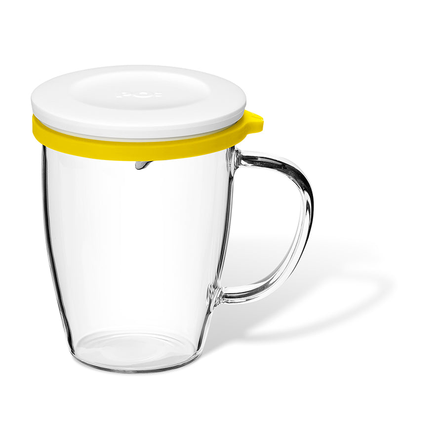 Yellow Savor Tea Mug