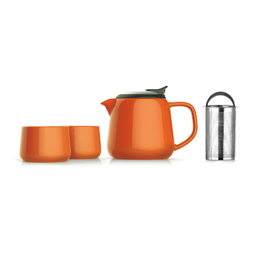 Tea Partner - Tea for Two in Orange