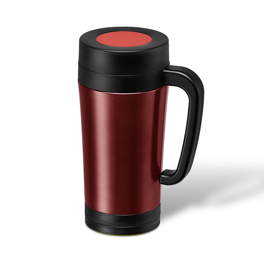TeaTimer Thermal Cup Red