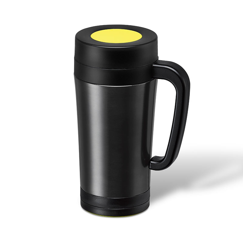 TeaTimer Thermal Cup Yellow