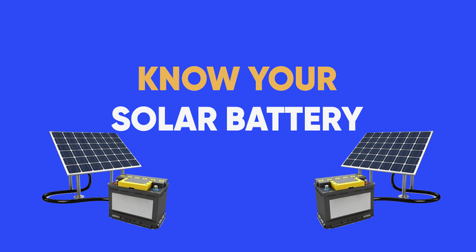 Know your Solar Battery Incentives