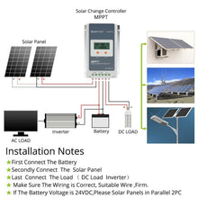 Load image into Gallery viewer, ACOPOWER 20A MPPT 100V Solar Charge Controller with LCD Display ( HY2210A)