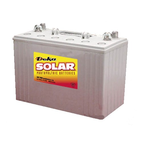 DEKA Solar Gel Deep Cycle Battery 12V, 108Ah (8G31DT-DEKA)