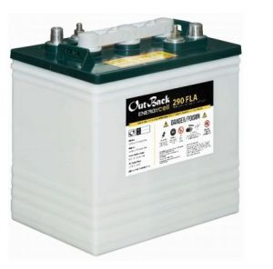 OutBack Power EnergyCell 290FLA 6 Volt 290Ah Deep Cycle Flooded Battery