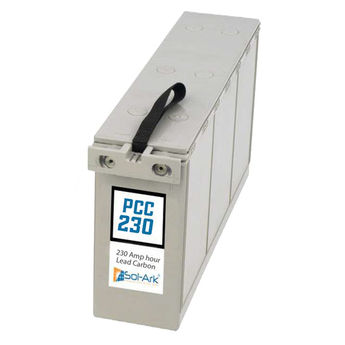 Sol-Ark PCC230 12V Partial Charge Carbon Solar Battery