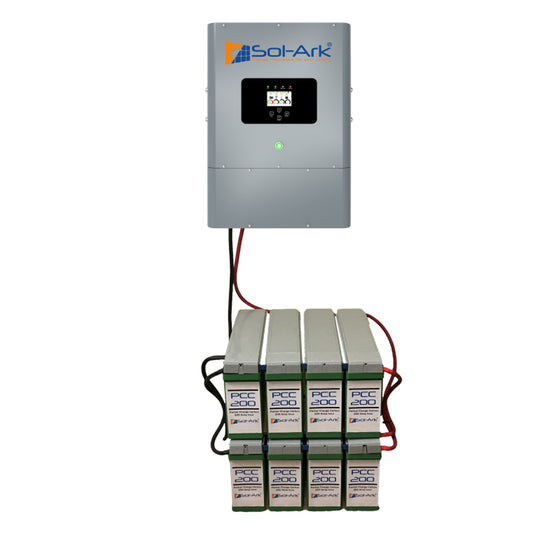 Sol-Ark 8kW Hybrid All-In-One Battery Inverter (Sol-Ark 8K) 10 Years Warranty