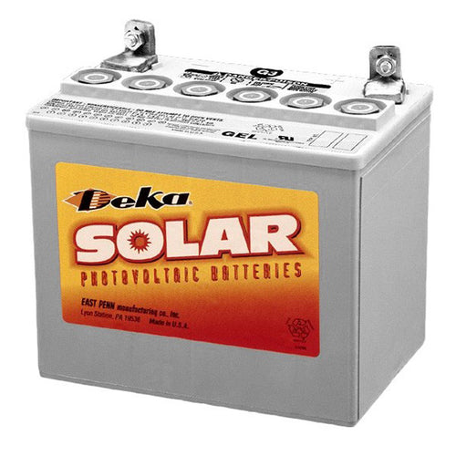 DEKA Solar AGM Deep Cycle Battery 12V, 91Ah (8A24UT-DEKA)