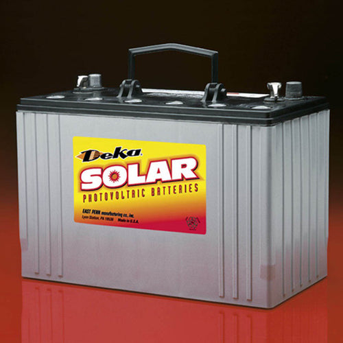 DEKA Solar AGM Deep Cycle Battery 12V, 110Ah (8A31DT-DEKA)