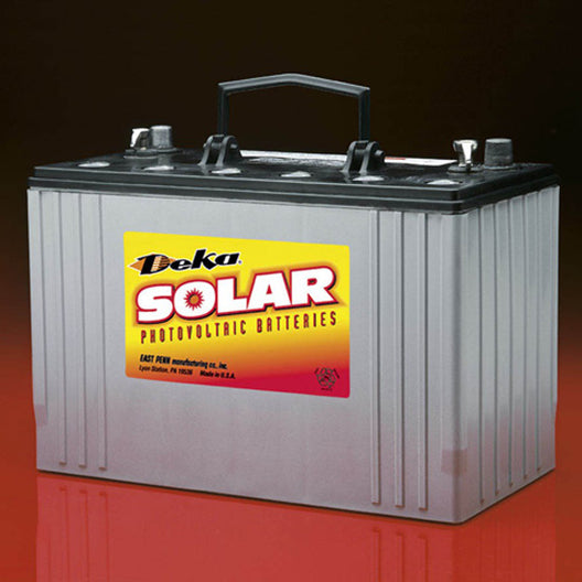 DEKA Solar SLD AGM Deep Cycle Battery 12V, 91Ah (8A24DT-DEKA)