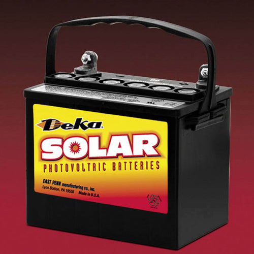 DEKA Solar AGM Deep Cycle Battery, 12V, 37Ah (8AU1H-DEKA)