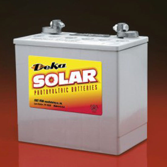 DEKA Solar Gel Deep Cycle Battery 12V, 58Ah (8G22NF-DEKA)