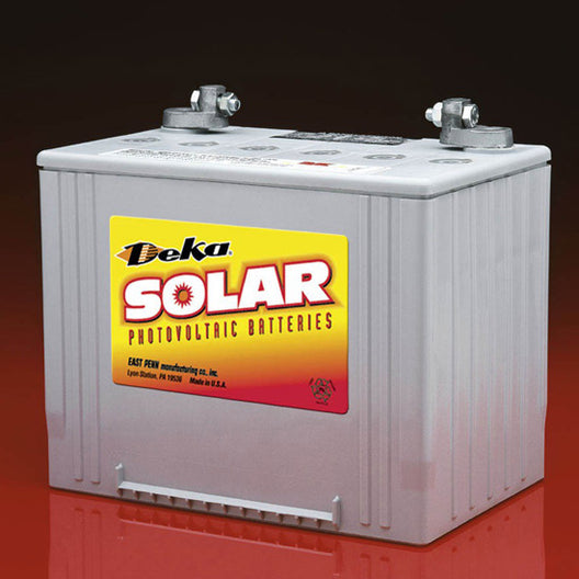 DEKA Solar Gel Deep Cycle Battery, 12V, 85Ah (8G24UT-DEKA)
