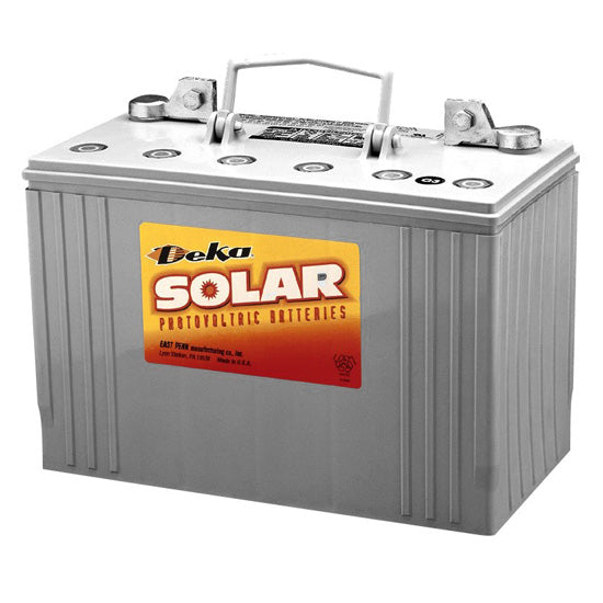 DEKA Solar Gel Deep Cycle Battery 12V, 108Ah (8G30H-DEKA)