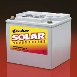 DEKA Solar Gel Deep Cycle Battery, 12V, 48Ah (8G40-DEKA)