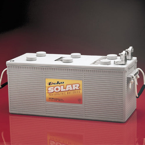 DEKA Solar Gel Deep Cycle Battery,12V, 210Ah (8G4DLTP-DEKA)