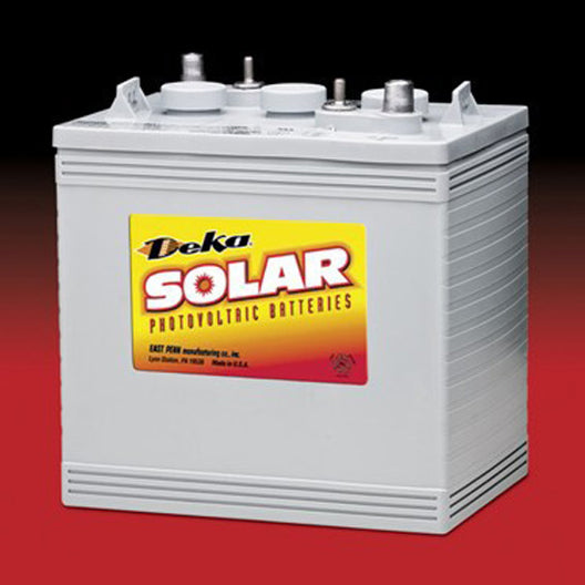 DEKA Solar Gel Deep Cycle Battery, 6V, 198Ah (8GGC2-DEKA)