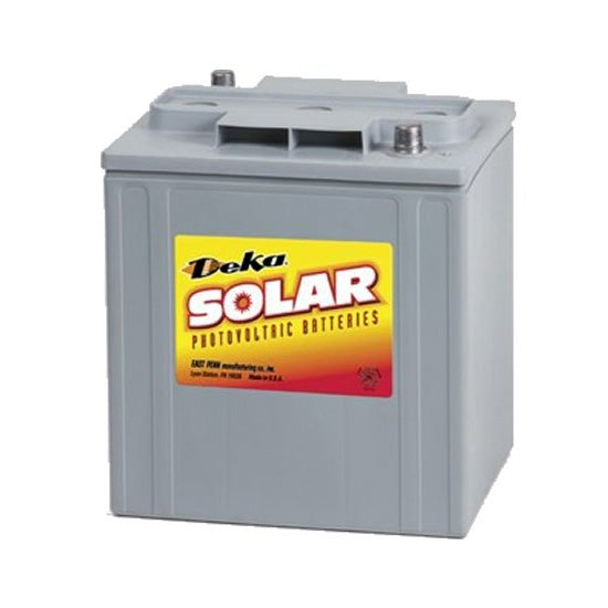 DEKA Solar Gel Deep Cycle Battery, 6V, 220Ah (8GTE35-DEKA)