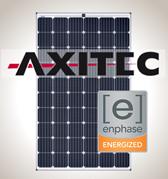 2.3 kW Kit Axitec 295 Silver, Enphase