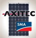 Load image into Gallery viewer, 2.3 kW Solar Kit, Axitec 295M, SMA Inverter
