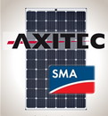 Load image into Gallery viewer, 3.2 kW Solar Kit, Axitec 295M, SMA Inverter