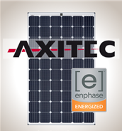 4.1 kW Kit Axitec 295 Silver, Enphase
