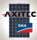 Load image into Gallery viewer, 4.1 kW Solar Kit, Axitec 295M, SMA Inverter
