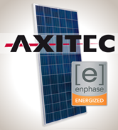 1.9 kW Solar Kit, Axitec 330P, Enphase Inverter