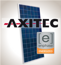 Load image into Gallery viewer, 2.6 kW Solar Kit, Axitec 330P, Enphase Inverter