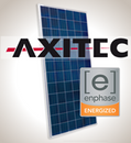 Load image into Gallery viewer, 3.3kW Solar Kit, Axitec 330P, Enphase Inverter
