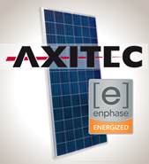 4.6kW Solar Kit, Axitec 330P, Enphase Inverter