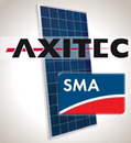 Load image into Gallery viewer, 4.6 kW Solar Kit, Axitec 330P, SMA Inverter