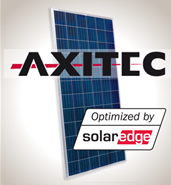 4.6 kW Solar Kit, Axitec 330P, SolarEdge Inverter