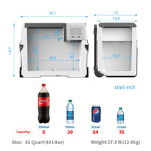 Load image into Gallery viewer, Acopower Portable Solar Fridge 42 Quarts / 40 Litres 2018, R40A