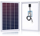 Load image into Gallery viewer, ACOPOWER 25W 12V Polycrystalline Photovoltaic PV Solar Panel (HY025-12P)