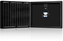 Load image into Gallery viewer, ACOPOWER 50W Monocrystalline All Black Solar Panel (HY050-12MB)