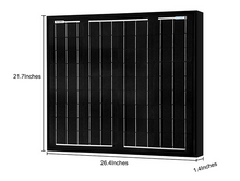 Load image into Gallery viewer, ACOPOWER 50W Mono All Black Solar Panel (HY050-12MB)