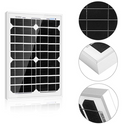 Load image into Gallery viewer, ACOPOWER 20W 12V Mono Solar Panel (HY020-12M)
