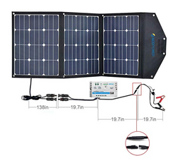 ACOPOWER 105W Solar Panel Kit (HY-3x35W18V2)