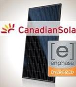 1 kW PV Kit Canadian 295 All-Black, Enphase Micro