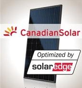 4kW PV Kit Canadian 295 All-Black, SolarEdge Optimizer
