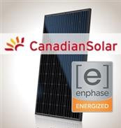 4 kW PV Kit Canadian 295 All-Black, Enphase Micro