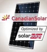 3.6kW Solar Kit Canadian 305, SolarEdge battery inverter, Optimizer