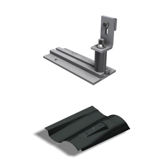 "Everest Solar Systems 166"" CrossRail Mounting System, 48-XL DARK"