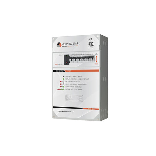 Morningstar Tristar 60Amp TS-MPPT-60-600V-48-DB-TR-GFPD High Volatge Charge Controller (Pre-wired with GFPD)